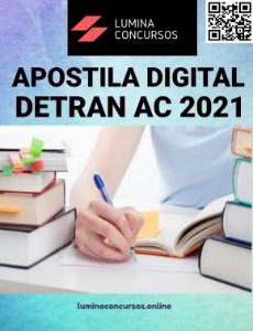 Apostila DETRAN AC 2021 Orientador de Trânsito