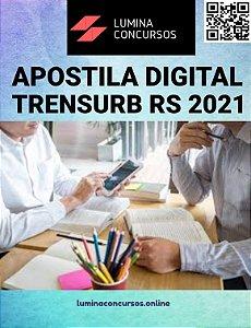 Apostila TRENSURB RS 2021 Técnico em Eletromecânica