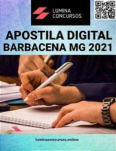 Apostila CÂMARA DE BARBACENA MG 2021 Advogado