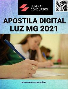 Apostila PREFEITURA DE LUZ MG 2021 Educador Físico