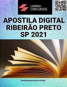 Apostila PREFEITURA DE RIBEIRÃO PRETO SP 2021 Engenheiro de Segurança do Trabalho