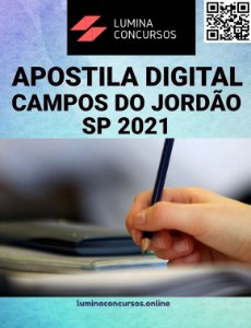 Apostila CÂMARA DE CAMPOS DO JORDÃO SP 2021 Contador