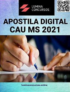 Apostila CAU MS 2021 Profissional de Suporte Técnico