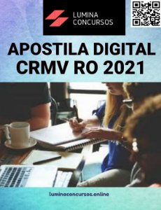 Apostila CRMV RO 2021 Agente Fiscal