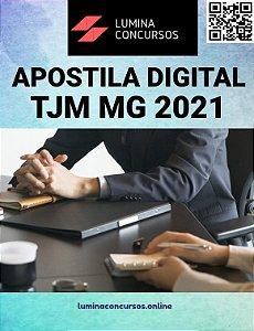 Apostila TJM MG 2021 Oficial Judiciário