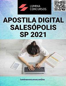 Apostila PREFEITURA DE SALESÓPOLIS SP 2021 Procurador Jurídico