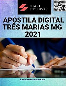 Apostila PREFEITURA DE TRÊS MARIAS MG 2021 Pedagogo