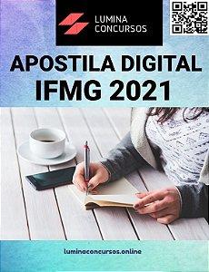 Apostila IFMG 2021 Técnico de Contabilidade