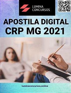 Apostila CRP MG 2021 Assistente Administrativo