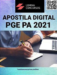 Apostila PGE PA 2021 Técnico de Procuradoria Administração