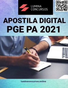Apostila PGE PA 2021 Técnico em Gestão de Procuradoria