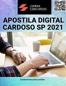 Apostila PREFEITURA DE CARDOSO SP 2021 Secretaria de Escola Municipal