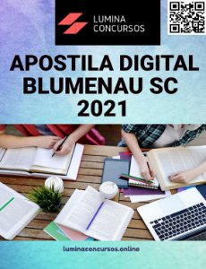 Apostila PREFEITURA DE BLUMENAU SC 2021 Professor de Português
