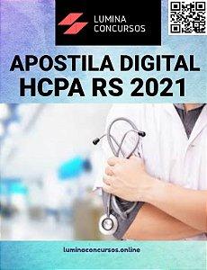 Apostila HCPA RS 2021 Técnico em Nutrição e Dietética