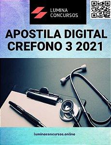 Apostila CREFONO 3 2021 Assistente Administrativo Júnior
