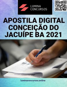 Apostila PREFEITURA DE CONCEIÇÃO DO JACUÍPE BA 2021 Farmacêutico