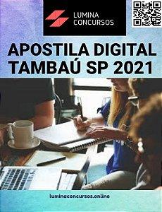 Apostila PREFEITURA DE TAMBAÚ SP 2021 Gestor Escolar