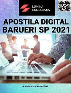 Apostila CÂMARA DE BARUERI SP 2021 Analista Legislativo