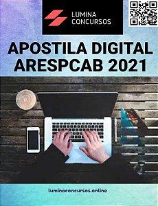 Apostila ARESPCAB 2021 Auxiliar Administrativo