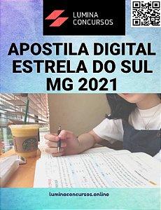 Apostila PREFEITURA DE ESTRELA DO SUL MG 2021 Nutricionista