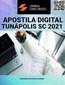 Apostila PREFEITURA DE TUNÁPOLIS SC 2021 Professor de Artes