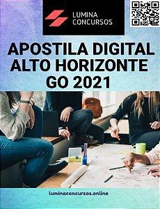 Apostila PREFEITURA DE ALTO HORIZONTE GO 2021 Nutricionista