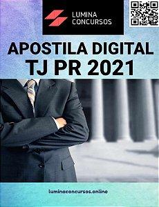 Apostila TJ PR 2021 Contador