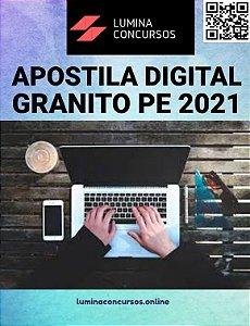 Apostila PREFEITURA DE GRANITO PE 2021 Assistente Social