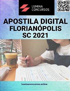 Apostila PREFEITURA DE FLORIANÓPOLIS SC 2021 Professor de Educação Infantil