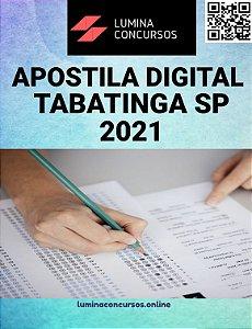 Apostila PREFEITURA DE TABATINGA SP 2021 Professor de Educação Básica II Inglês