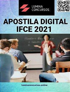 Apostila IFCE 2021 Pedagogo