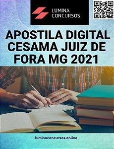Apostila CESAMA JUIZ DE FORA MG 2021 Técnico em Edificações