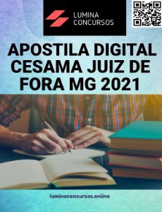 Apostila CESAMA JUIZ DE FORA MG 2021 Técnico em Química