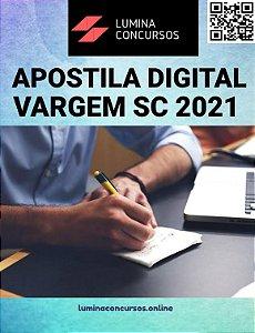 Apostila PREFEITURA DE VARGEM SC 2021 Nutricionista