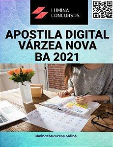 Apostila PREFEITURA DE VÁRZEA NOVA BA 2021  Professor N II Geografia