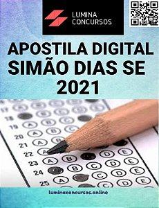 Apostila PREFEITURA DE SIMÃO DIAS SE 2021 Fiscal de Postura