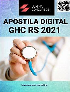 Apostila GHC RS 2021 Técnico de Enfermagem Intensivista Pediátrico