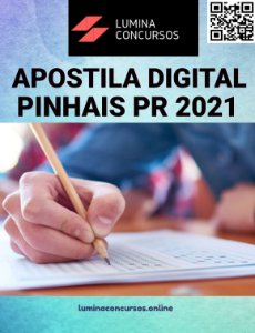 Apostila PREFEITURA DE PINHAIS PR 2021 Professor