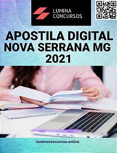 Apostila PREFEITURA DE NOVA SERRANA MG 2021 Assistente Administrativo