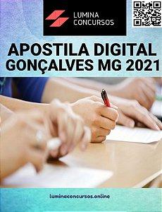 Apostila PREFEITURA DE GONÇALVES MG 2021 Professor de Inglês
