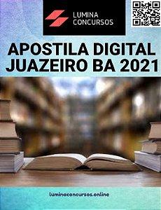 Apostila PREFEITURA DE JUAZEIRO BA 2021 Professor de Matemática