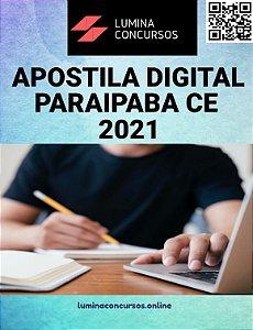 Apostila PREFEITURA DE PARAIPABA CE 2021 Professor PEB II Educação Infantil