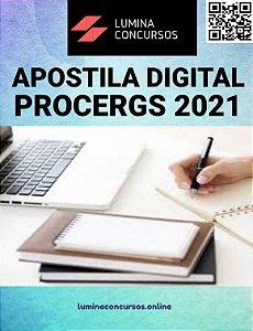 Apostila PROCERGS 2021 Assistente Técnico Técnico em Eletrotécnica
