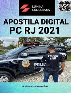 Apostila PC RJ 2021 Perito Criminal Engenharia Civil