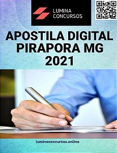 Apostila CÂMARA DE PIRAPORA MG 2021 Agente Administrativo Legislativo