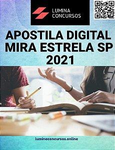 Apostila PREFEITURA DE MIRA ESTRELA SP 2021 Contador