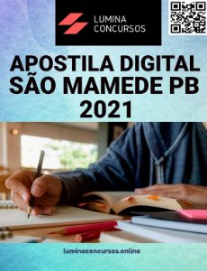 Apostila PREFEITURA DE SÃO MAMEDE PB 2021 Educador Físico