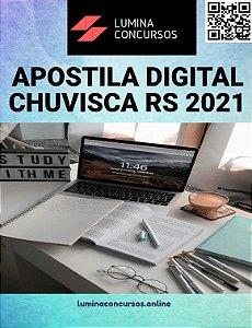 Apostila PREFEITURA DE CHUVISCA RS 2021 Assistente Social