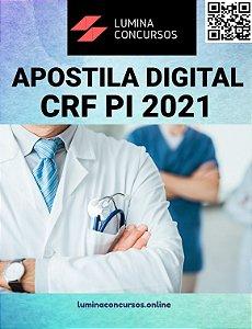 Apostila CRF PI 2021 Assistente Administrativo