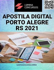 Apostila PREFEITURA DE PORTO ALEGRE RS 2021 Arquiteto